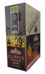 Clipper Cigarillos Grape 15/4PK