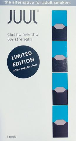 JUUL Pods Classic Menthol 4CT LIMITED EDITION