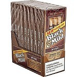Black & Mild Wood Tip Wine Cigars 10/5PK