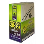 Clipper Cigarillos White Grape 15/4PK