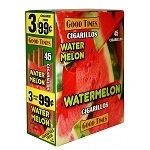 Good Times Cigarillos Watermelon Pouch 15/3 Pre-Priced