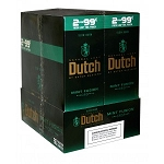Dutch Masters Cigarillos Foil 2/99 Mint Fusion 30/2PK