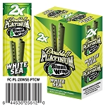 Double Platinum Blunt Wrap White Sea 25/2PK