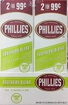 Phillies Cigarillos Foil Pouch Southern Blend 30/2PK