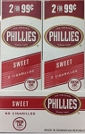 Phillies Cigarillos Foil Pouch Sweet 30/2PK