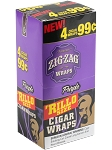 Zig Zag Rillo Wrap Purple 15/4PK