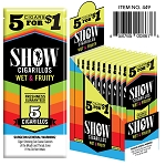 Show Cigarillos Foil Wet & Fruity 15/5PK