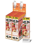 White Owl Cigarillos Foil Fresh White Peach Pre-Priced
