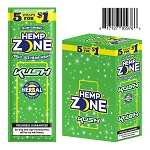 Hemp Zone Cigar Wrap Kush 15/5PK