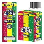 Hemp Zone Cigar Wrap Natural 15/5PK
