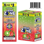 Hemp Zone Cigar Wrap Kiwi Strawberry 15/5PK