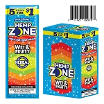 Hemp Zone Cigar Wrap Wet & Fruity 15/5PK