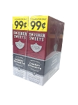 Swisher Sweet Cherry Dynamite Cigarillos Foil Pack