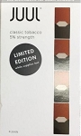JUUL Pods Classic Tobacco 4CT LIMITED EDITION