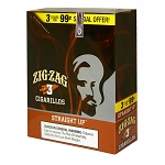 Zig Zag Cigarillos Straight Up 15/3PK