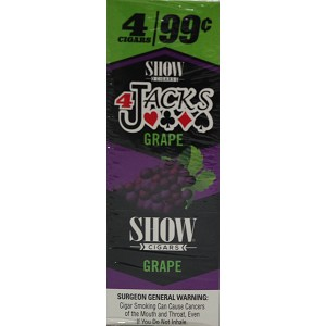 SHOW 4JACKS GRAPE 15/4PK