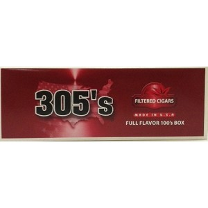 305's Filtered Cigars Full Flavor