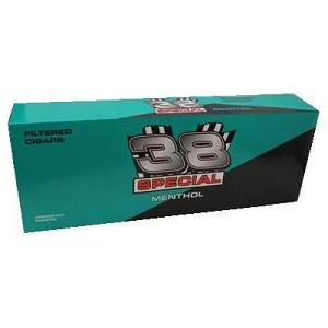 38 Special Filtered Cigars Menthol