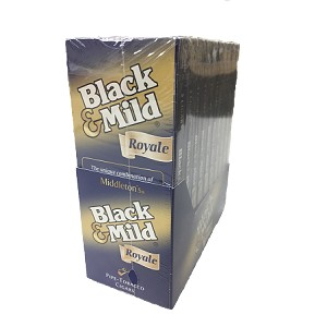 Black & Mild Royale Cigars 10/5PK