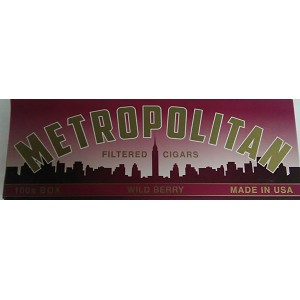 Metropolitan Filtered Cigars Wild Berry