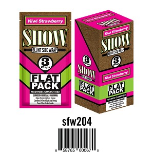 Show Cigar Wrap Kiwi Strawberry 25/3PK