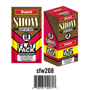Show Cigar Wrap Sweet 25/3PK