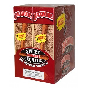 Backwoods Sweet Aromatic Cigars 24/1PK  (LIMITED QUANTITIES AVAILABLE, PLEASE CALL AHEAD BEFORE ORDERING)