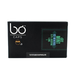 BO Vaping I See Mint Ice Menthol E-Liquid Caps (pack of 3)