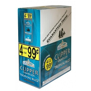 Clipper Cigarillos Tropical Buzz 15/4PK