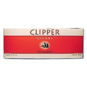 Clipper Filtered Cigars Strawberry