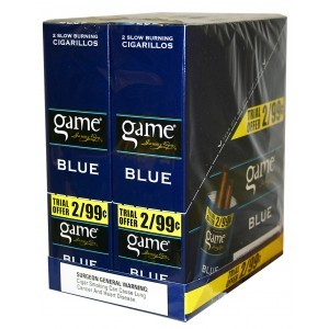 Game FoilFresh Cigarillos Blue Pre-Priced