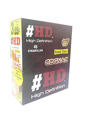Good Times #HD Cognac Cigarillos 15/3PK