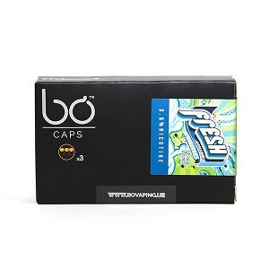 BO Vaping Kiwiberries Ice E-Liquid Caps (pack of 3)