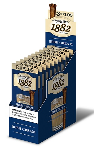 GARCIA Y VEGA 1882 IRISH CREAM CIGARS 10/3PK