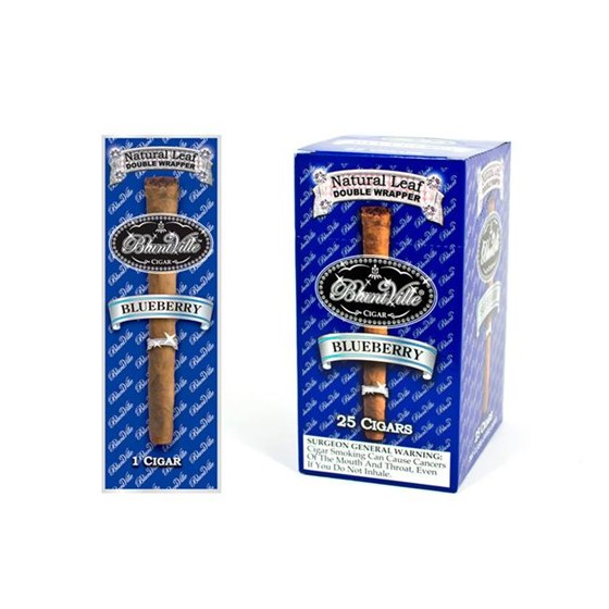 Bluntville Blueberry 25CT  Box