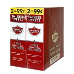 Swisher Sweets Cigarillos Foil Pack Regular Pre-Priced   ( LIMIT OF TWO )