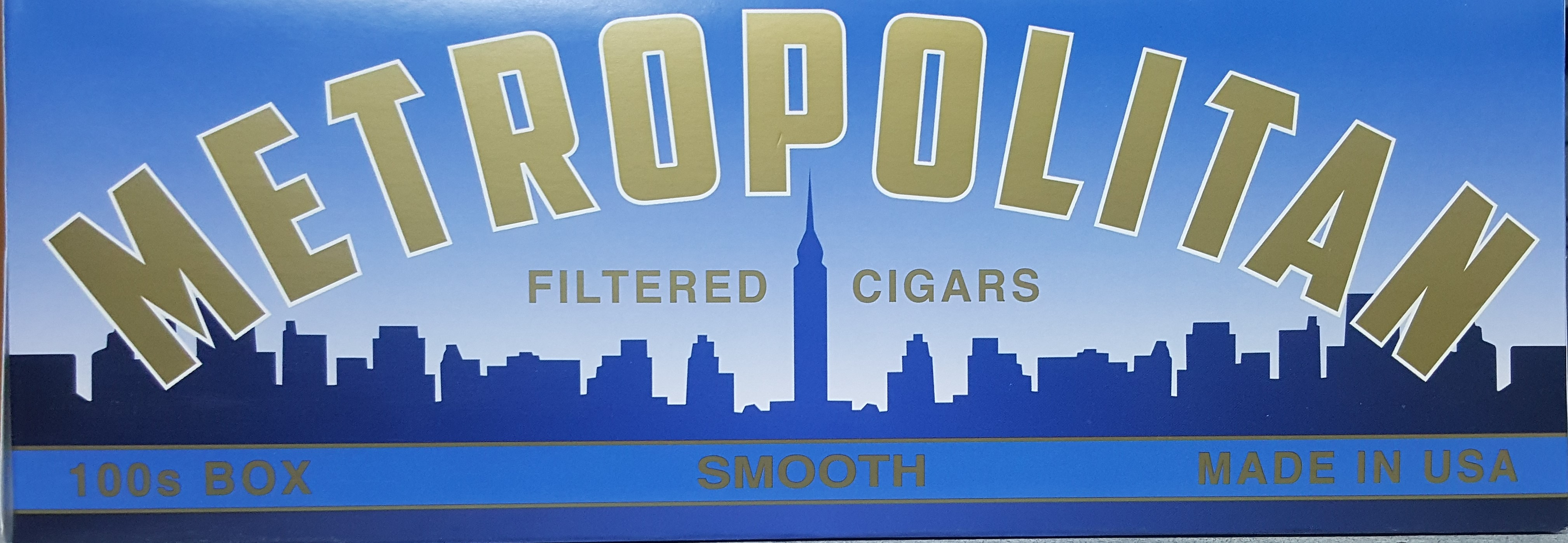 Metropolitan Filtered Cigars Smooth