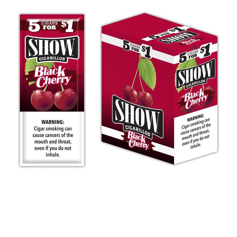 Show Cigarillos Black Cherry 15/5Pk