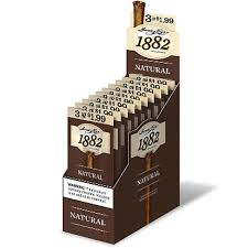 GARCIA Y VEGA 1882 CIGARS NATURAL 10/3PK
