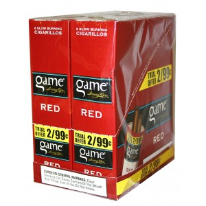 Game FoilFresh Cigarillos Red Sweets Pre-Priced