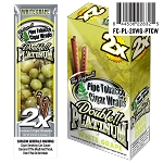 Double Platinum Blunt Wrap White Grape 25/2PK