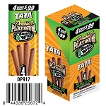 Double Platinum Cigarillo Wrap Tata 15/4PK