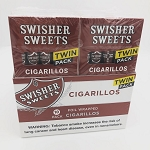 SWISHER  SWEET  CIGARILLOS  REGULAR TWIN PACK
