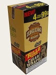 Zig Zag Rillo Wrap Gold 15/4PK   (LIMIT OF THREE )