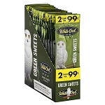 White Owl Cigarillos Foil Fresh Green Sweets