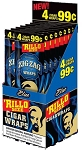 Zig Zag Rillo Wrap Blue15/4PK   (LIMITED OF THREE )