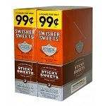 Swisher Sweets Cigarillos Foil Sticky Sweets Pre-Priced  (LIMIT OF TWO )