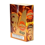 ZIG ZAG CIGAR WRAP ORANGE  25/2PK