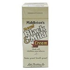Black & Mild Cream Cigars 25CT Box