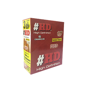 Good Times #HD Red Cigarillos 15/3PK
